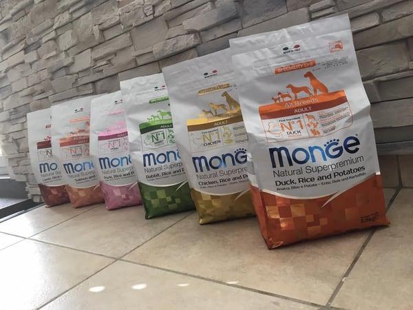 Monge dry food